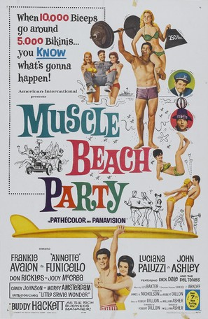 Muscle Beach Party - Movie Poster (thumbnail)
