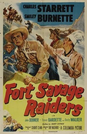Fort Savage Raiders - Movie Poster (thumbnail)