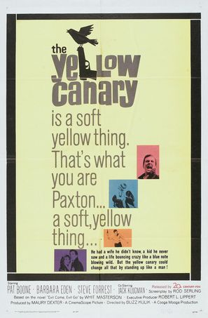 The Yellow Canary - Movie Poster (thumbnail)