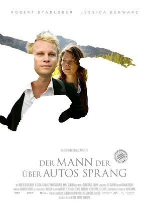 Der Mann der über Autos sprang - German Movie Poster (thumbnail)