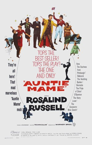 Auntie Mame - Movie Poster (thumbnail)