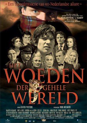Het woeden der gehele wereld - Dutch Movie Poster (thumbnail)