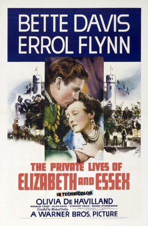The Private Lives of Elizabeth and Essex - Movie Poster (thumbnail)