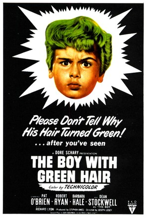 The Boy with Green Hair - Movie Poster (thumbnail)
