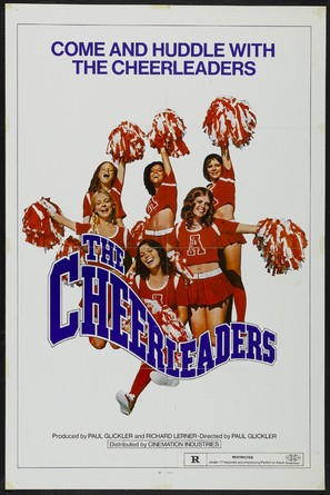 The Cheerleaders - Theatrical poster (thumbnail)