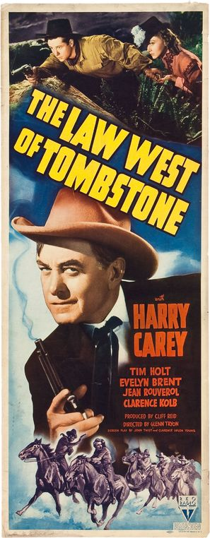The Law West of Tombstone - Movie Poster (thumbnail)