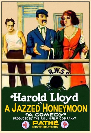 A Jazzed Honeymoon - Movie Poster (thumbnail)