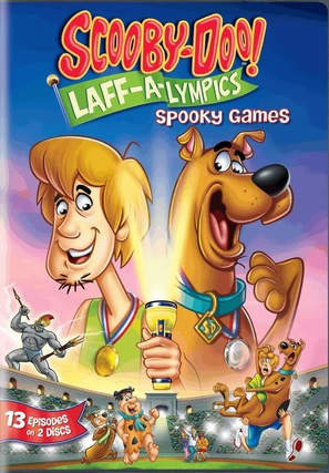 """""""Scooby's All Star Laff-A-Lympics"""" - DVD movie cover (thumbnail)"""