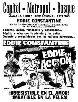 Hoppla, jetzt kommt Eddie - Movie Poster (thumbnail)