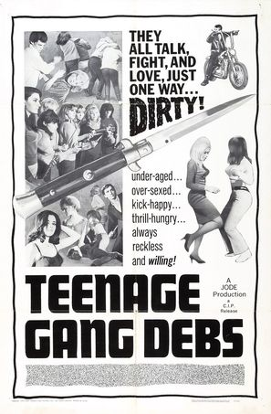 Teenage Gang Debs - Movie Poster (thumbnail)