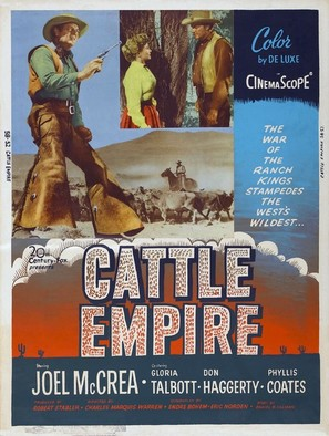 Cattle Empire - Movie Poster (thumbnail)