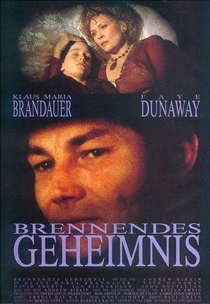 Burning Secret - German poster (thumbnail)