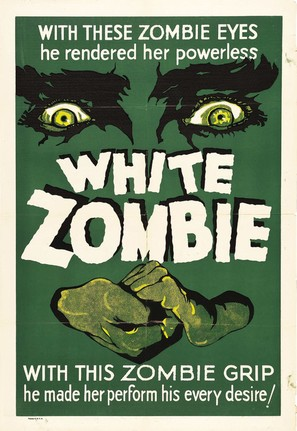 White Zombie - Re-release poster (thumbnail)