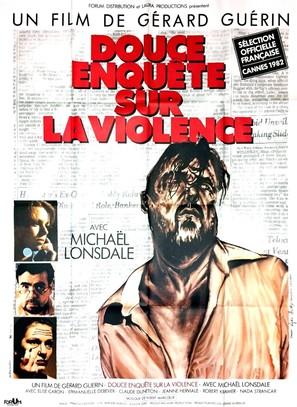 Douce enquête sur la violence - French Movie Poster (thumbnail)