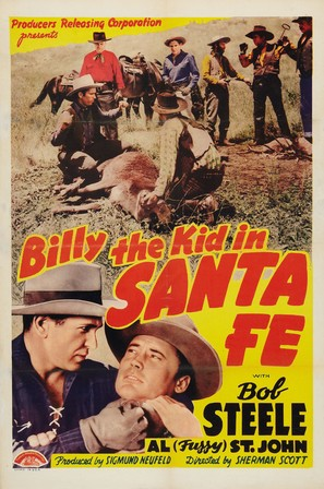 Billy the Kid in Santa Fe - Movie Poster (thumbnail)