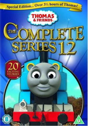"""Thomas & Friends: The Complete Series 12"" - British DVD cover (thumbnail)"