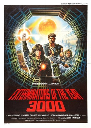 Exterminators of the Year 3000 - Movie Poster (thumbnail)