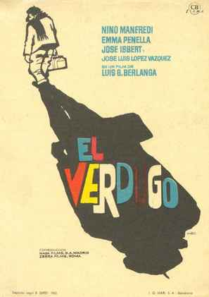 El verdugo - Spanish Movie Poster (thumbnail)