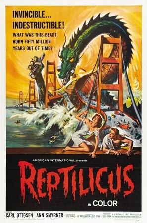 Reptilicus - Movie Poster (thumbnail)