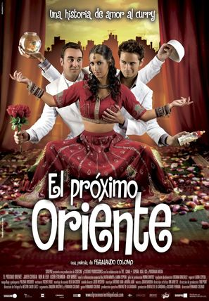 El próximo oriente - Spanish Movie Poster (thumbnail)