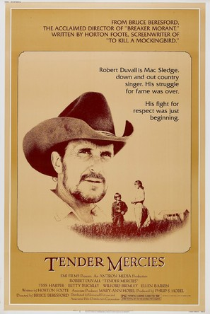 Tender Mercies - Movie Poster (thumbnail)