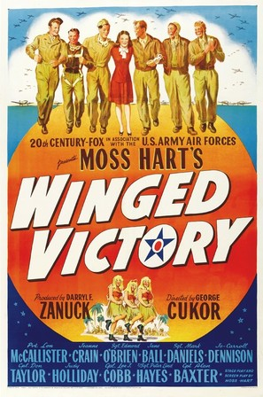 Winged Victory - Movie Poster (thumbnail)
