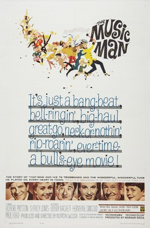 The Music Man - Movie Poster (thumbnail)