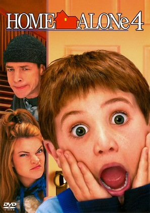 Home Alone 4 - DVD cover (thumbnail)