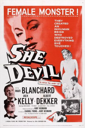 She Devil - Movie Poster (thumbnail)