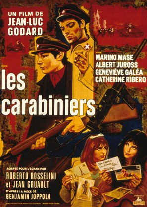 Carabiniers, Les - French Movie Poster (thumbnail)