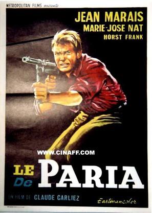 Le paria - Belgian Movie Poster (thumbnail)