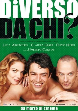 Diverso da chi - Italian Movie Poster (thumbnail)