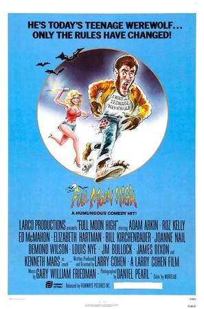 Full Moon High - Movie Poster (thumbnail)