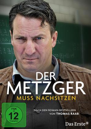 Der Metzger muss nachsitzen - German Movie Cover (thumbnail)