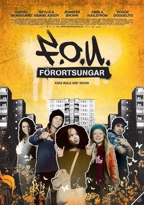 Förortsungar - Swedish poster (thumbnail)