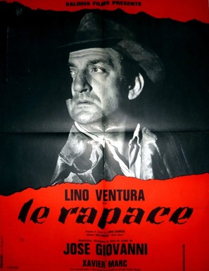Le rapace - French Movie Poster (thumbnail)
