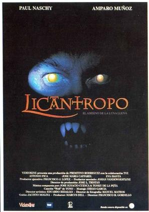 Licántropo: El asesino de la luna llena - Spanish poster (thumbnail)