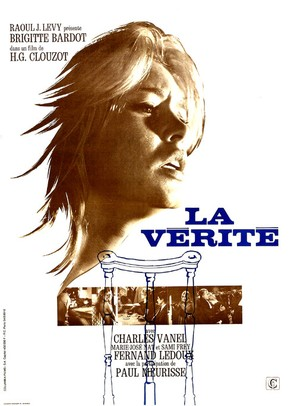 La vérité - French Movie Poster (thumbnail)