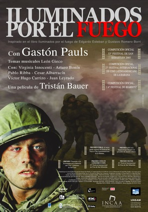 Iluminados por el fuego - Spanish poster (thumbnail)