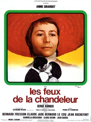 Les feux de la chandeleur - French Movie Poster (thumbnail)