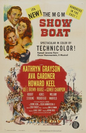 Show Boat - Movie Poster (thumbnail)