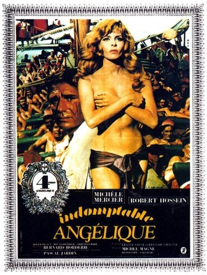 Indomptable Angèlique - French Movie Poster (thumbnail)