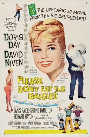 Please Don't Eat the Daisies - Movie Poster (thumbnail)
