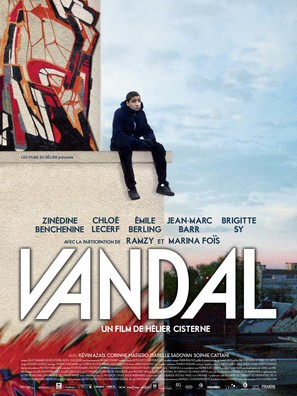Vandal - French Movie Poster (thumbnail)