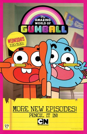 """The Amazing World of Gumball"" - Movie Poster (thumbnail)"