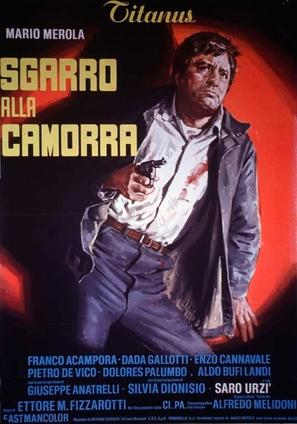 Sgarro alla camorra - Italian Movie Poster (thumbnail)
