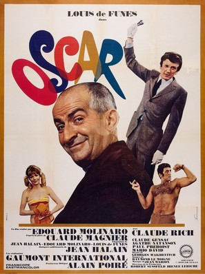 Oscar - French Movie Poster (thumbnail)