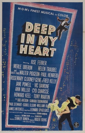 Deep in My Heart - Movie Poster (thumbnail)