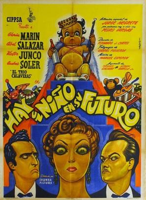 Hay un niño en su futuro - Mexican Movie Poster (thumbnail)