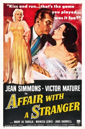 Affair with a Stranger - Movie Poster (thumbnail)